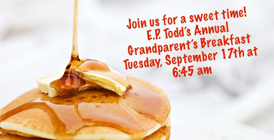 Join us for our annual Grandparents Breakfast!