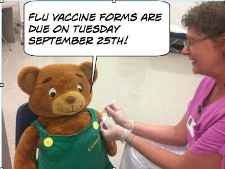 Flu Shot Clinic Forms Due Soon!