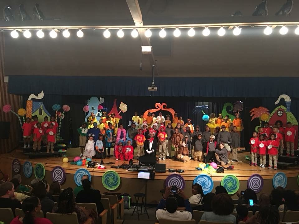 Students perform in Seussical