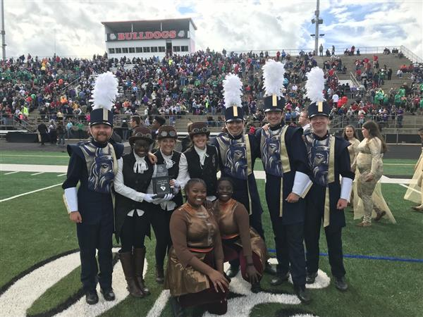 Viking Band Earns Place at State Championship