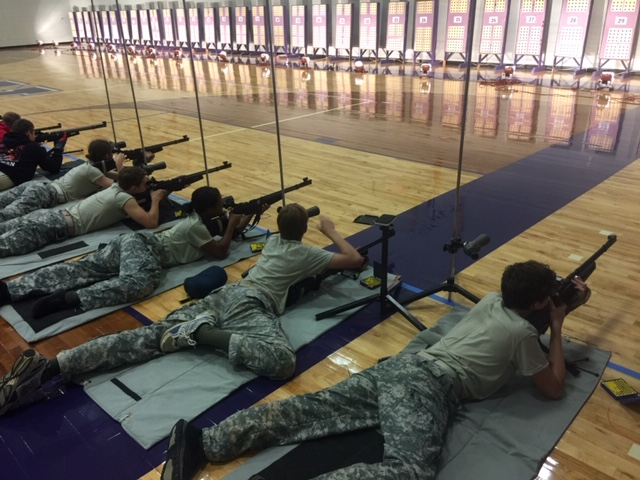 JROTC Rifle Team Takes Aim at Competition