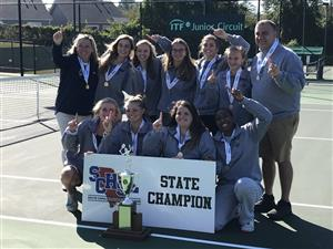 SHS Girls Tennis Team- State Champions!