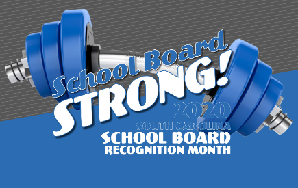 school board appreciation month logo