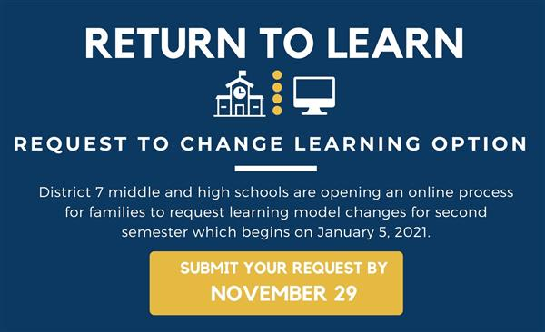 Request to Change Learning Option