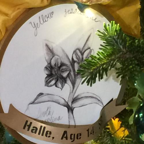 Halle's ornament