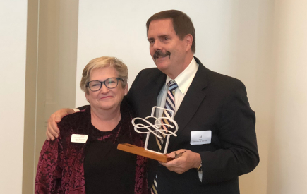 Veteran Administrator Honored for His Heart for the Arts