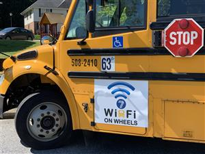 wifi on wheels bus
