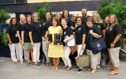 District 7 Names April Bryant, 2018-2019 Teacher of the Year