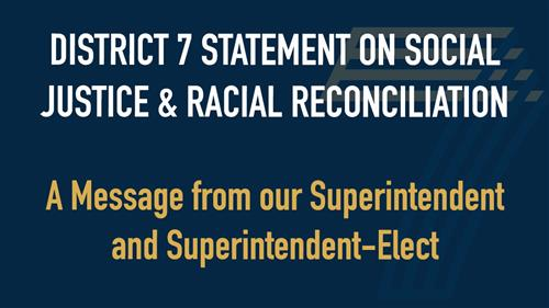 Message from our Superintendent