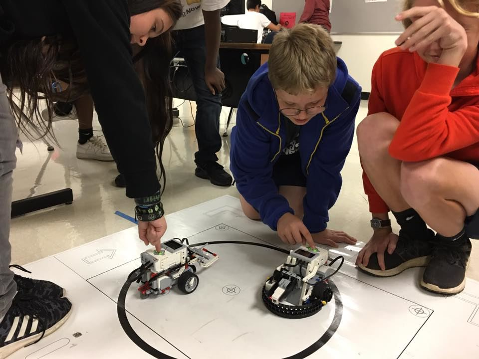 Students in Robotics
