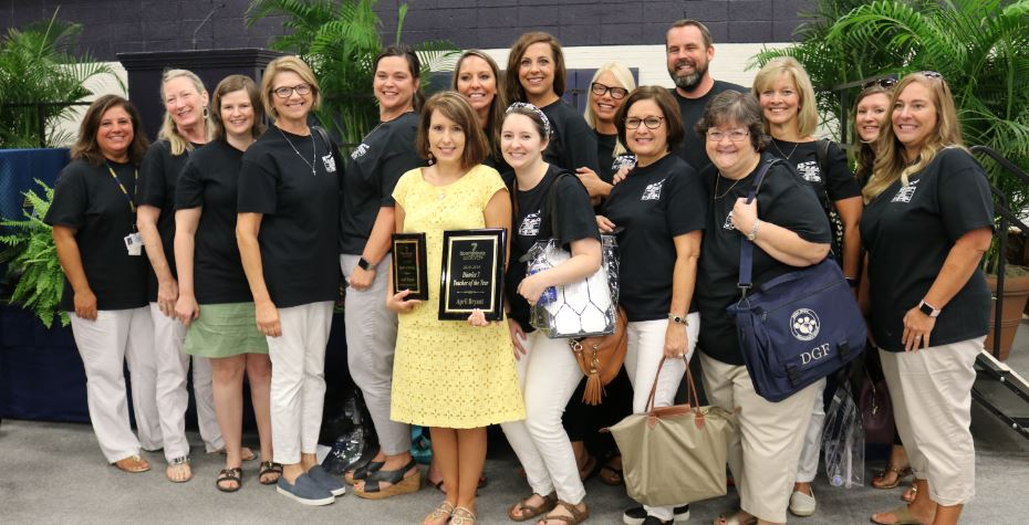 Mrs. Bryant named D7 Teacher of the Year